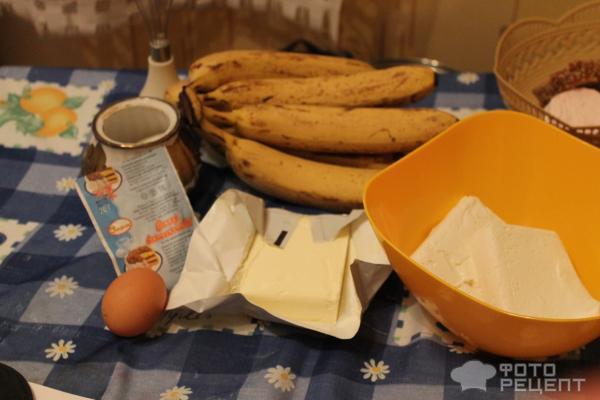 Банановый чизкейк с творогом фото