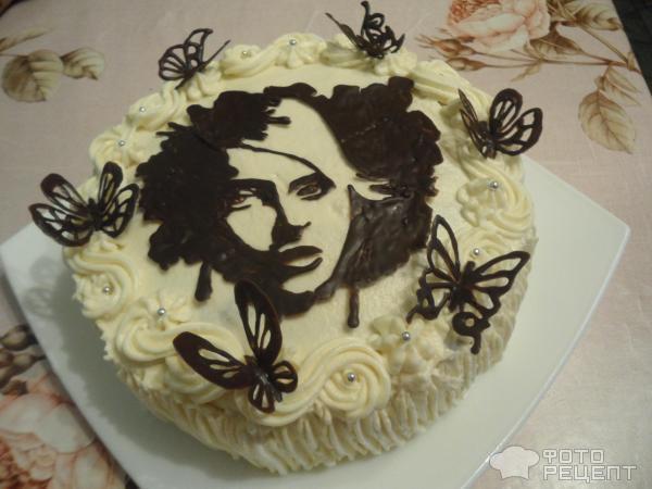 Торт незнакомка фото