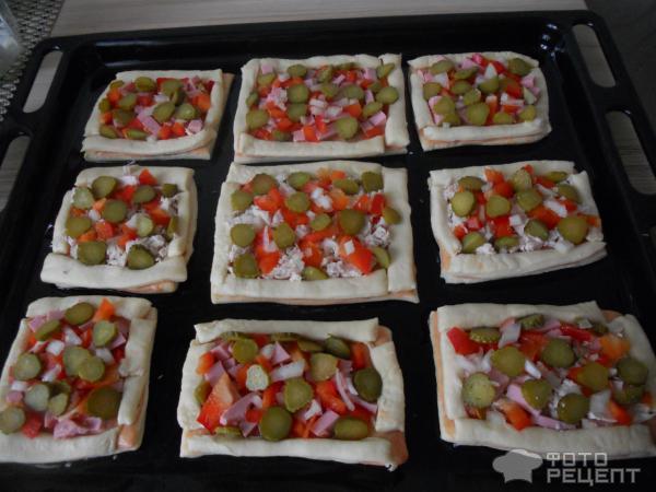Порционные пиццы рецепт