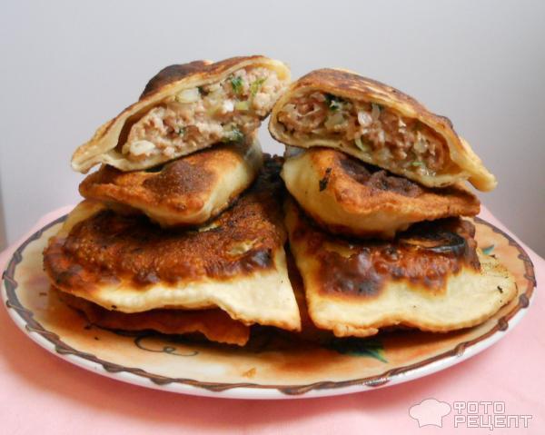 чебуреки с курицей рецепт с фото пошаговый
