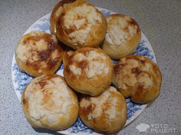 Сдобные булочки к завтраку