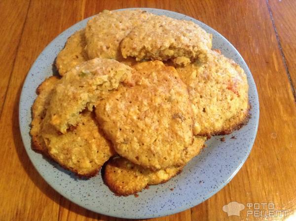 """Печенье """"Банановые мюслики"""" – кулинарный рецепт"""