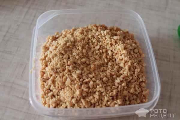 Пирожные Муравейник с соленым арахисом! фото