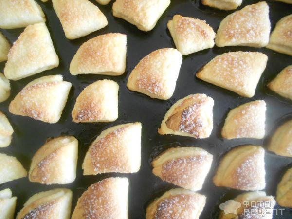 Творожное печенье Конвертики фото