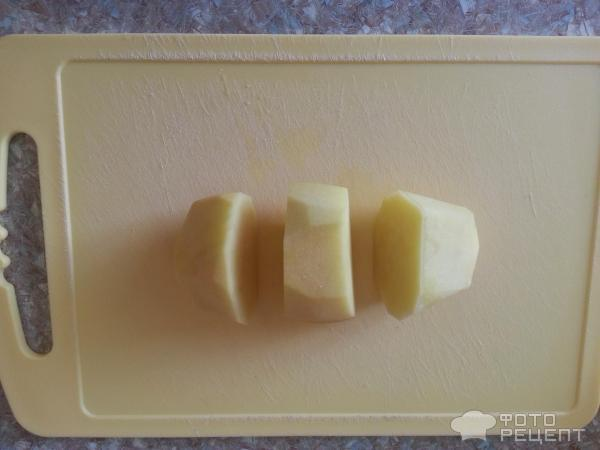 Свиные ребрышки с картошкой в рукаве фото