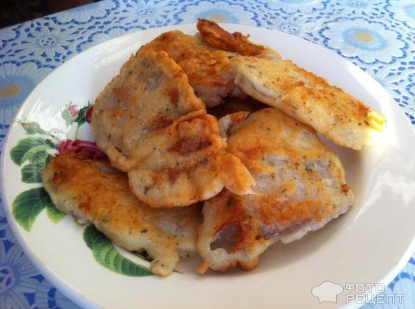Филе тилапии в кляре рецепт с фото