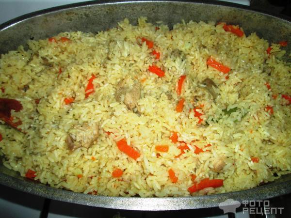 Туркменский плов рецепт с фото