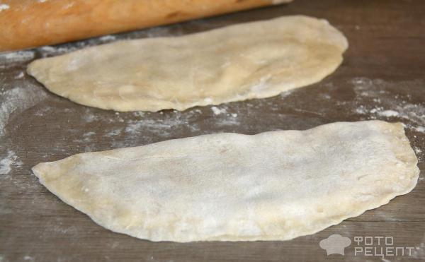 Приготовления чебуреков с заварным тестом