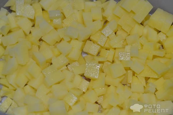 Манты с картофелем и луком фото