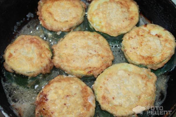 Кабачки в кляре с фаршем рецепт пошагово