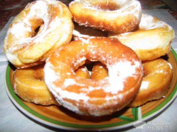 Жареные пончики кефире рецепт с фото