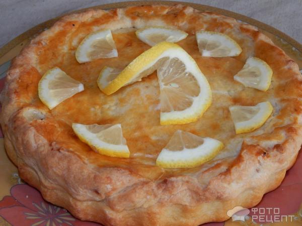 Лимонный пирог с начинкой рецепты