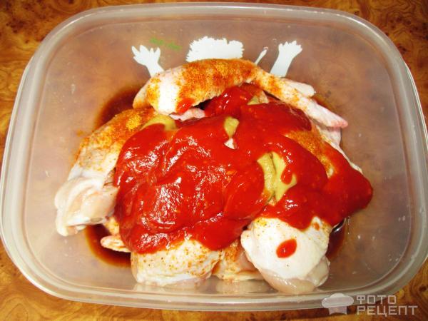 Крылышки соевом соусе рецепт фото