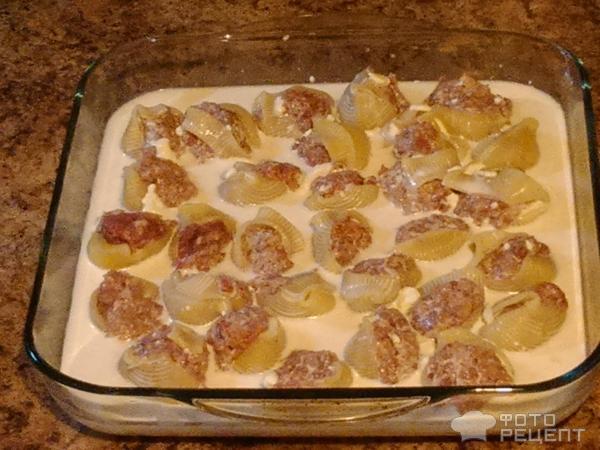 Фаршированные макароны с фаршем в духовке рецепт пошагово