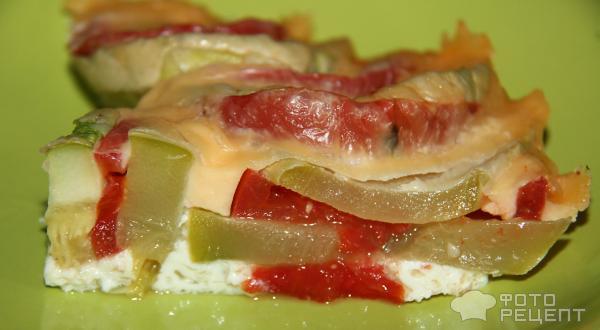 Кабачки, запечённые с овощами – кулинарный рецепт