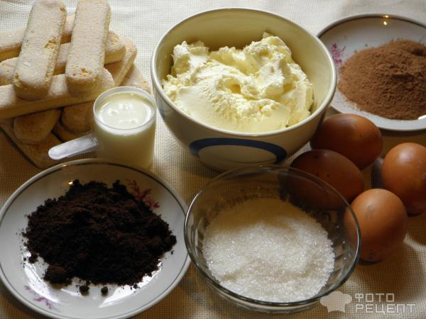 Рецепт торта тирамису без алкоголя