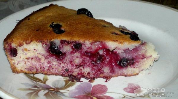 Бисквитные пироги с ягодами рецепты