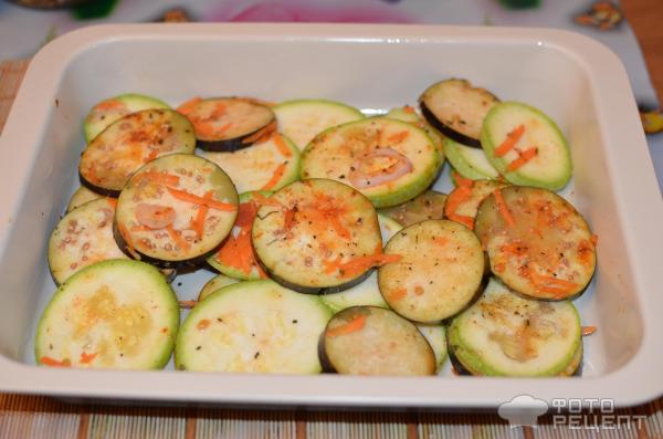 Овощи запеченные со сметаной в духовке рецепт