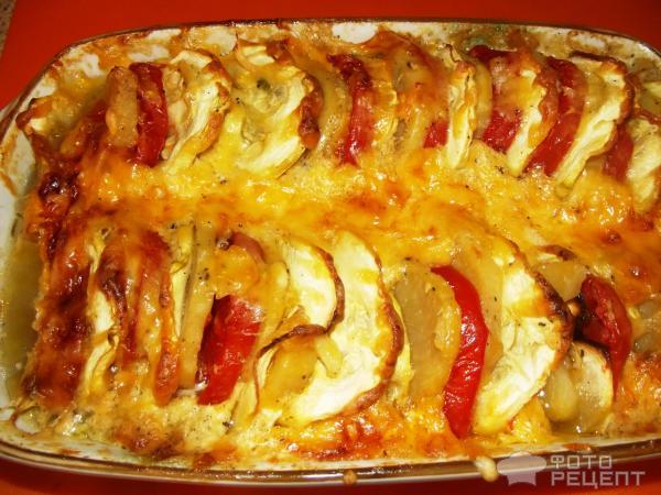 Запеканка с кабачками и картофелем в духовке рецепты