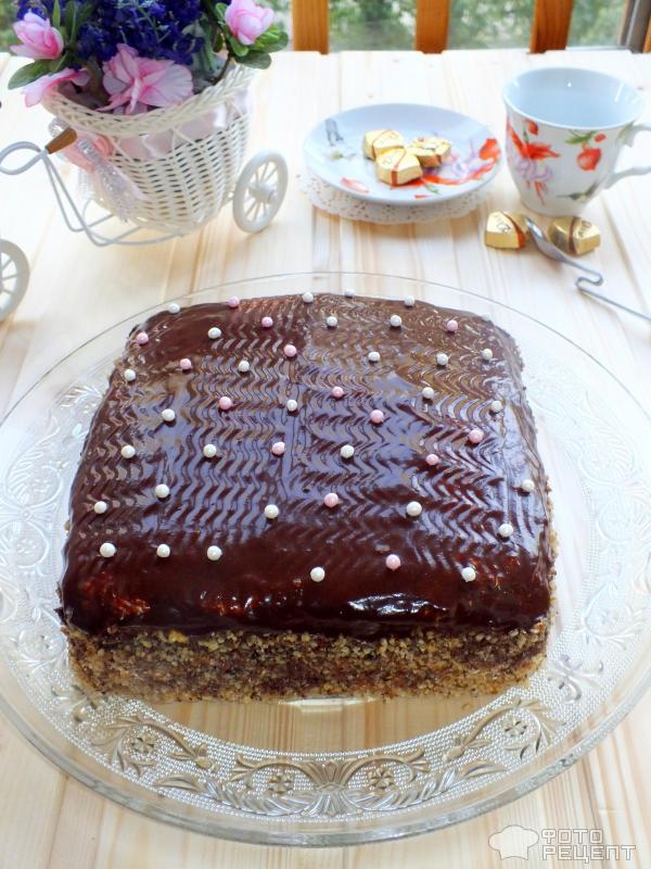 Торт в подарок рецепт с