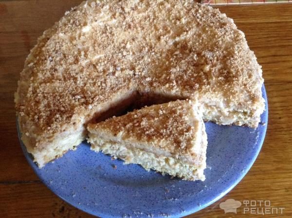 Рецепт торта на сухом киселе