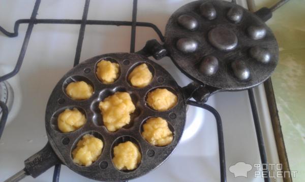 Горішки зі згущонкою рецепт з фото