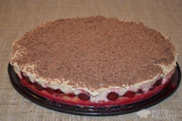 Вишневый торт с маскарпоне рецепт с фото