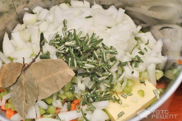 Овощной суп с сельдереем фото