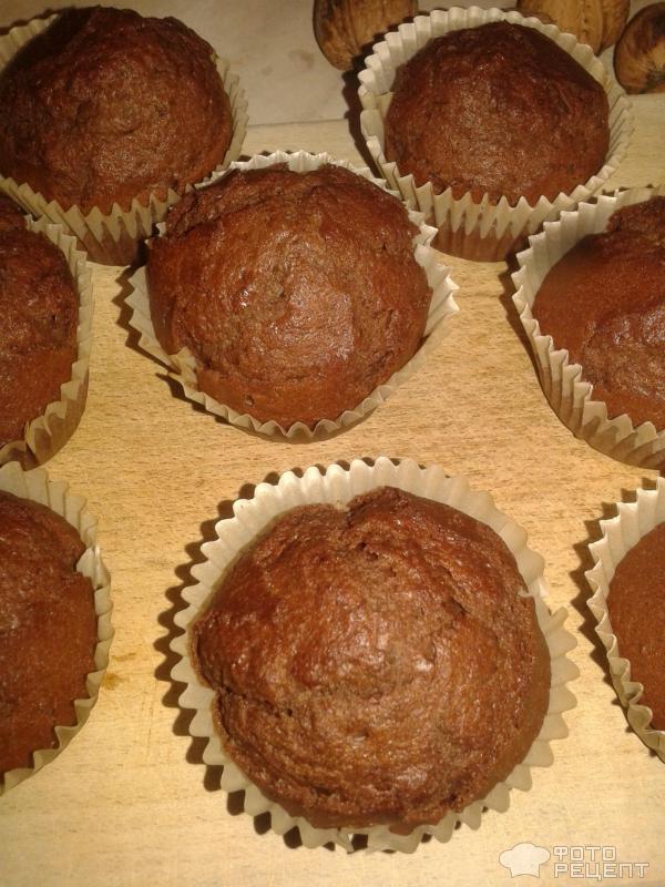 Рецепт шоколадные маффины в духовке