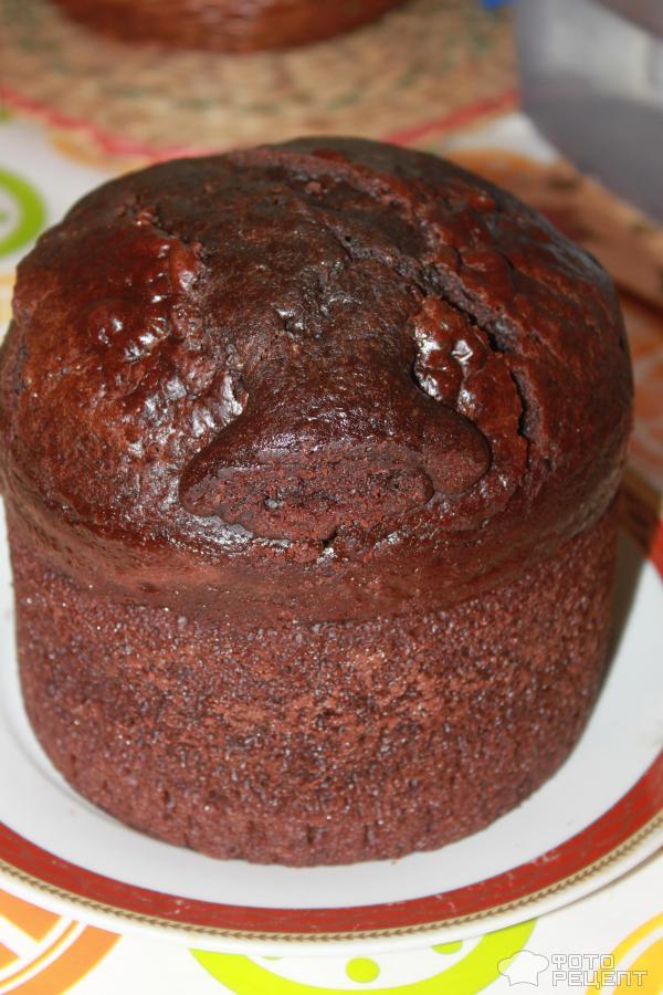 Шоколадный бисквит с маслом в мультиварке