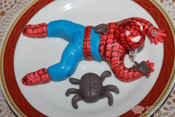 Мастер класс лепка человек паук