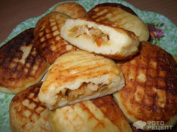 Зразы картофельные с капустой рецепт с фото