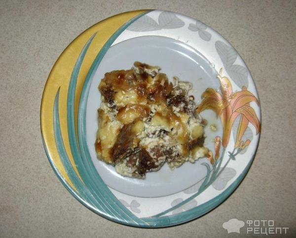 Рецепт Куриная печень в сметане фото