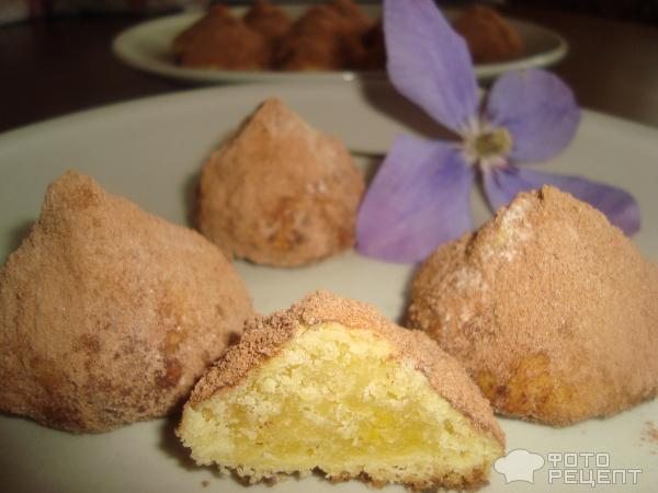 Печенье с варёными желтками рецепт
