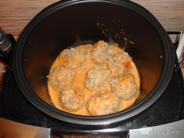 Рецепты тефтелей с подливкой из сметаны в духовке