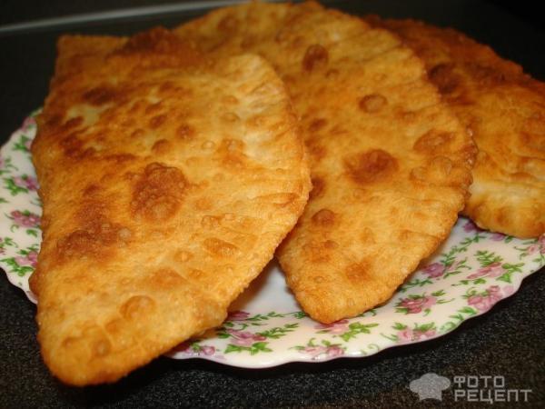 Тесто на чебуреки с кефиром с фото пошагово
