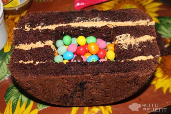 Торт Радуга фото