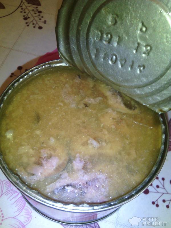 Суп из консервы из сайры рецепт пошаговый