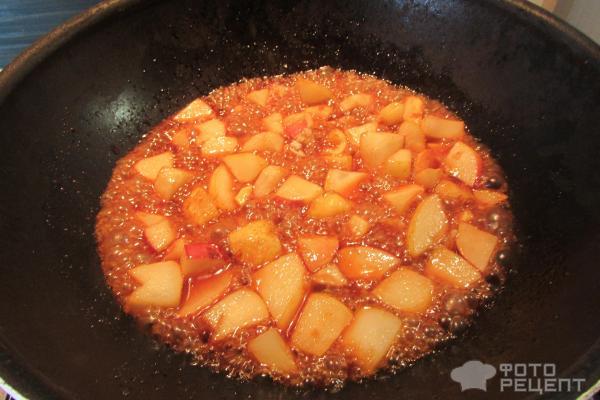 карамелизованные груши рецепт с фото