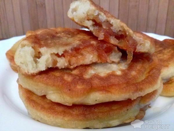 Оладьи с начинками рецепты с фото пошагово