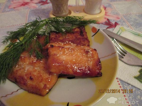 Рыба в медовом соусе рецепт 191