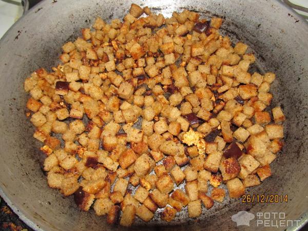 Как на сковородке сделать сухарики 949