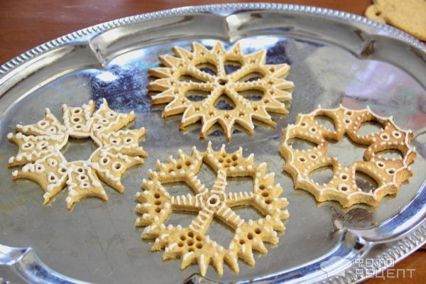 Печенье новогоднее Шары и снежинки