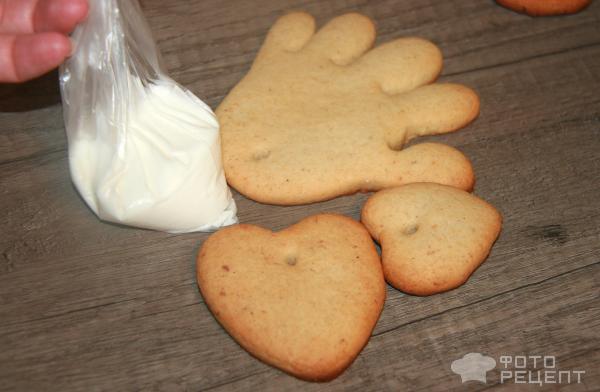 Имбирное печенье Новогоднее фото