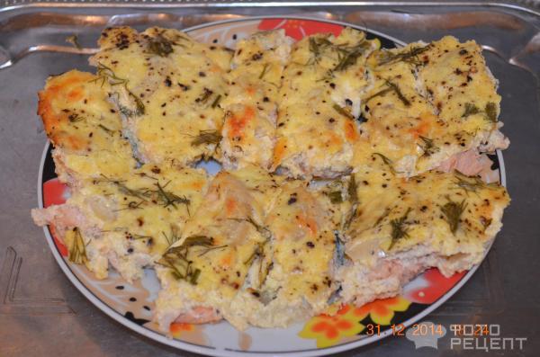 Горбуша в сметанном соусе в духовке рецепты