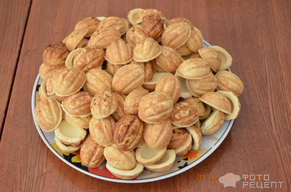 Рецепт на орешки на маргарине