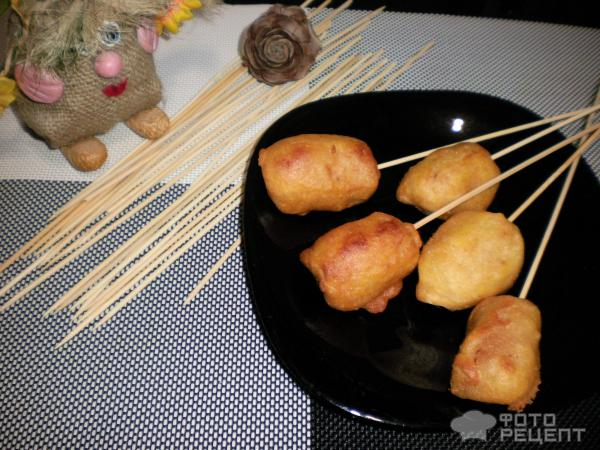 Как сделать тесто для гриль сосисок