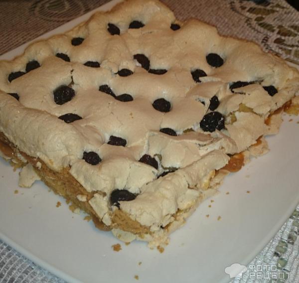 Простой песочный торт в домашних условиях 883