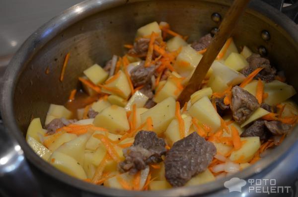 Свинина с картошкой в скороварке рецепты пошагово