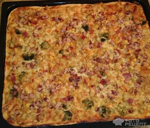 Вкусное тонкое тесто для пиццы рецепт без дрожжей пошагово 21